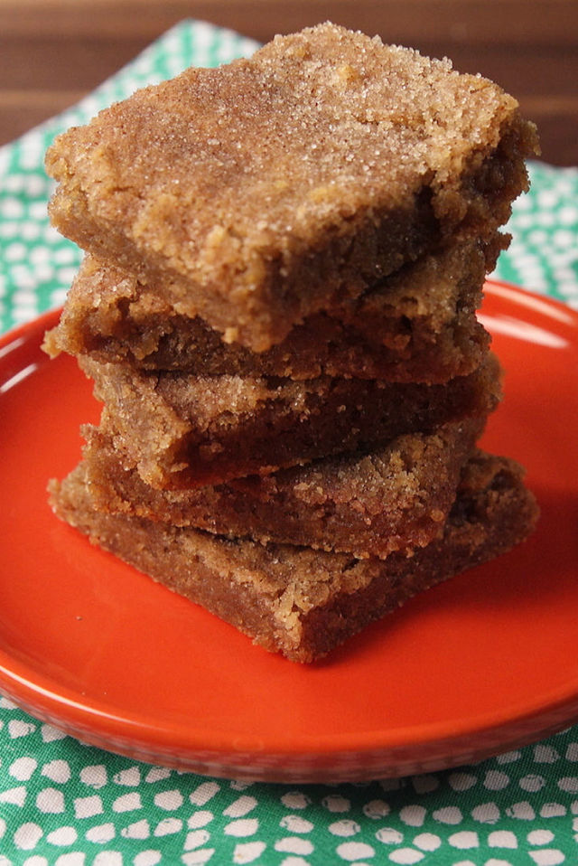 snickerdoodle-blondies